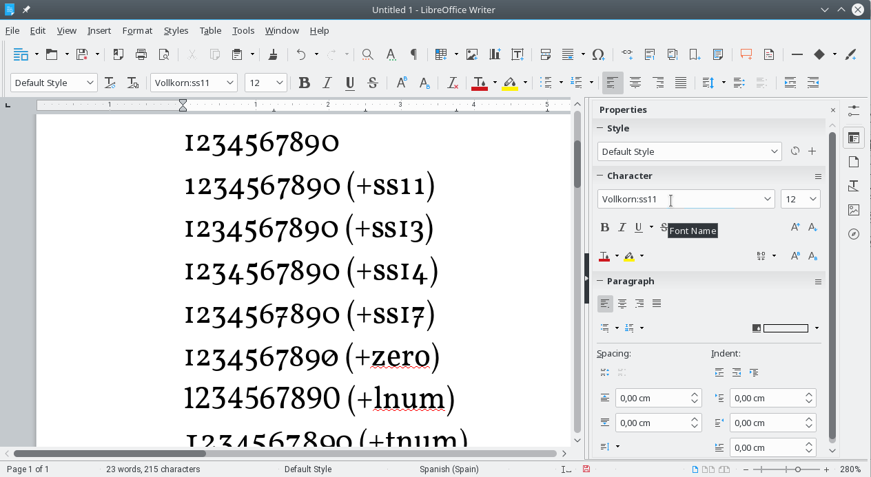 Using opentype tables on libreoffice writer from mind to for Table design libreoffice